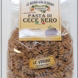 Virrine pasta di cece nero